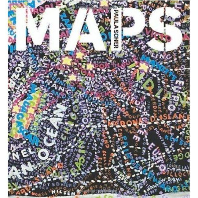 Paula Scher Maps | Coffee Table Book