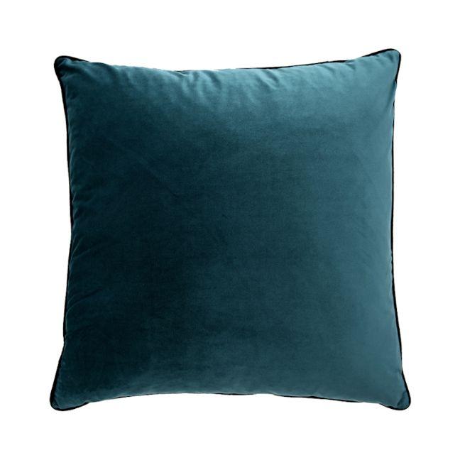 Peacock Teal Oversize Velvet Cushion