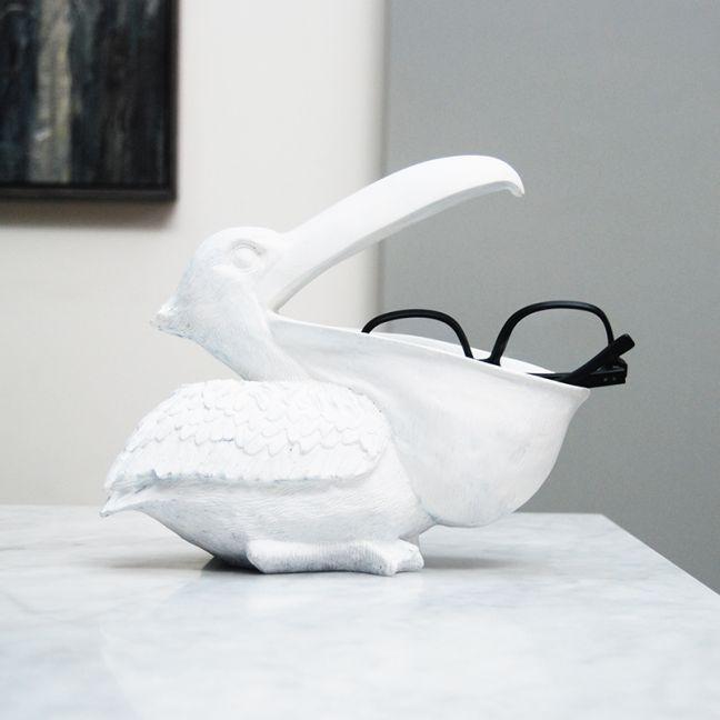 Pelican Bowl   White   White Moose