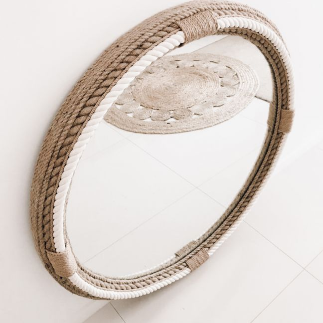Peninsula Point Rope Mirror