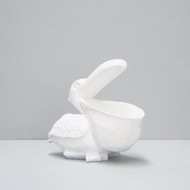 Peter the Pelican Bowl | White