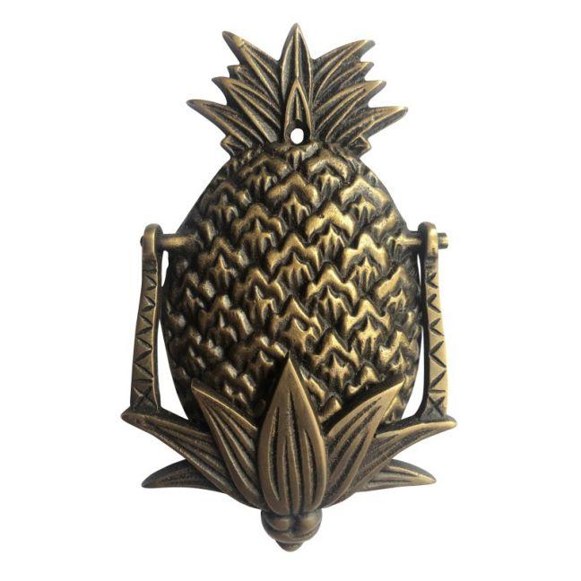 Petite Pineapple Door Knocker   Antique Finish   Pineapple Traders