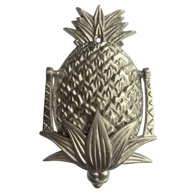 Petite Pineapple Door Knocker | Silver | Pineapple Traders