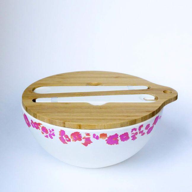 Pink Coral Salad Bowl | Emilie O'Connor Homestore