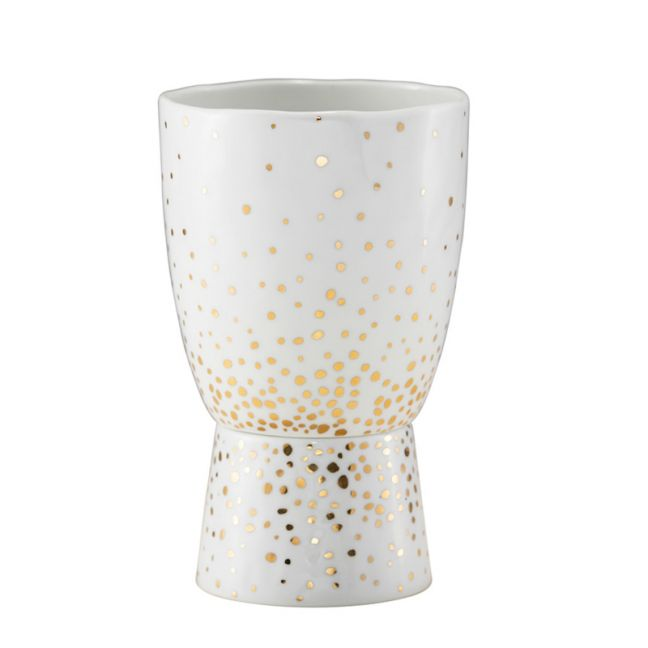 Plant Stand Gold Speckle Large