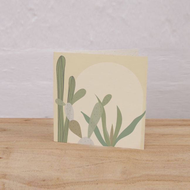 Plantable Gift Tag Pack of 6 l Cactus, Arch.
