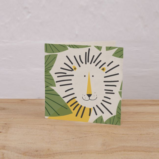 Plantable Gift Tag Pack of 6 l Leo the Lion