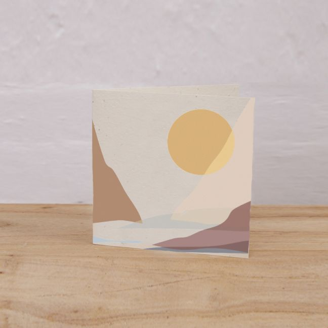 Plantable Gift Tag Pack of 6 l Mountain, Lake