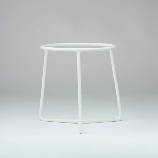 Planter Stand White Large