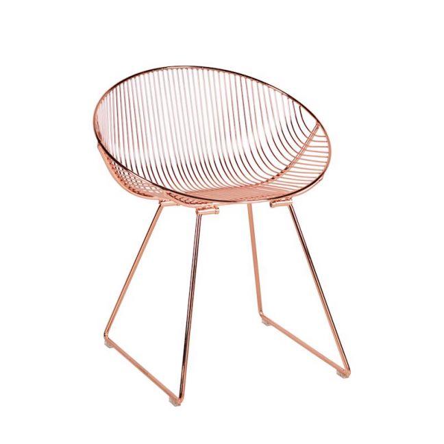Pop Chair   Metallic Copper