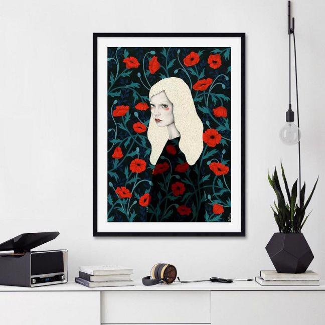 Poppy by Sofia Bonati | Unframed Art Print