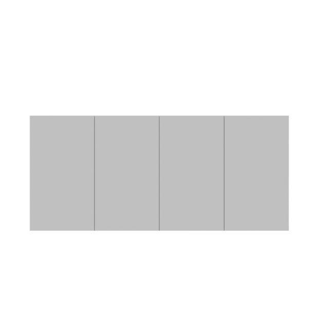 Posh Domaine Plus 1800mm x 800mm Shaving Cabinet 4 Door | Reece