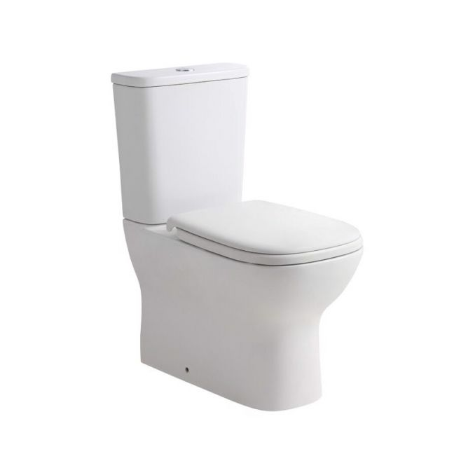 Posh Domaine Rimless Close Coupled Back to Wall Toilet Suite