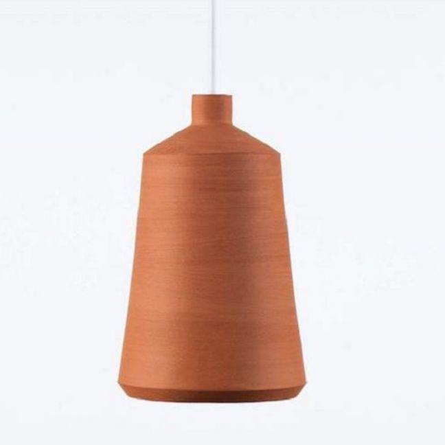 Pott Lighting | Flame Pendant | Terracotta | Flame 14