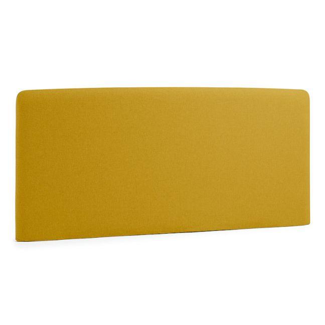 PRE-ORDER - August Arrival   Lydia Upholstered Headboard   Mustard
