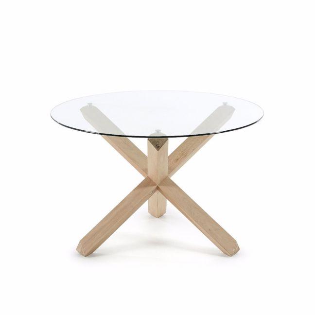 PRE-ORDER - November Arrival | Nori Glass Table | 120cm