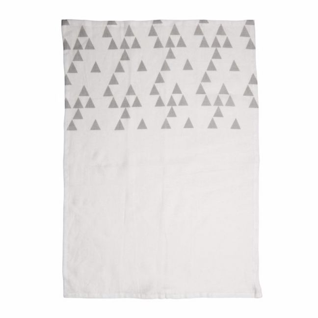 Printed Linen Tea Towels | Mirri Pumice