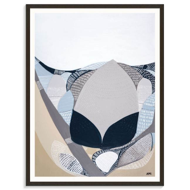 Protea In The Night | Ani Ipradjian | Canvas or Print by Artist Lane