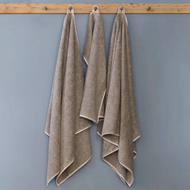 Pure Linen Terry Bath Sheet