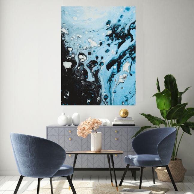 Rain On Me Canvas | Wall Art by Hoxton Art House