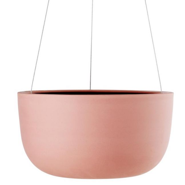 Raw Earth Hanging Planter by Angus & Celeste | Ochre | Large