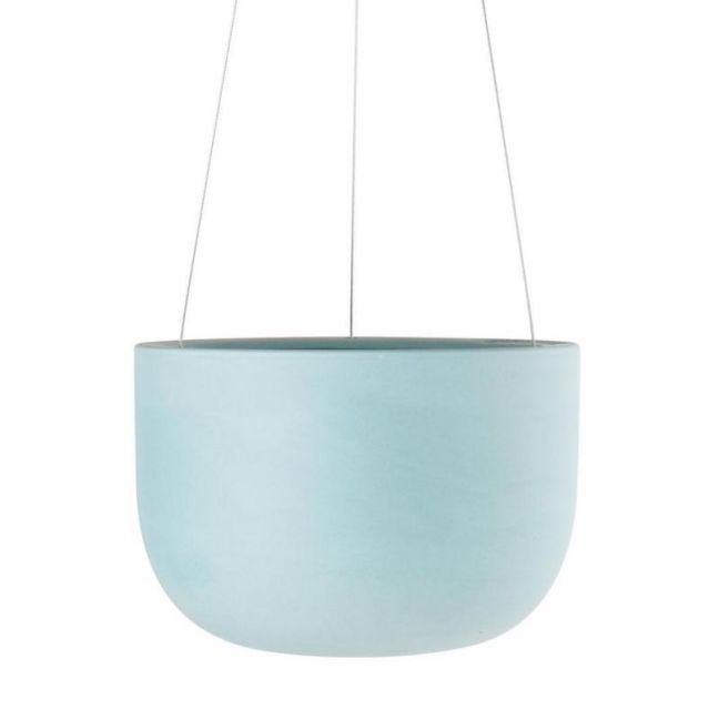 Raw Earth Hanging Planter by Angus & Celeste | Shale Green | Regular