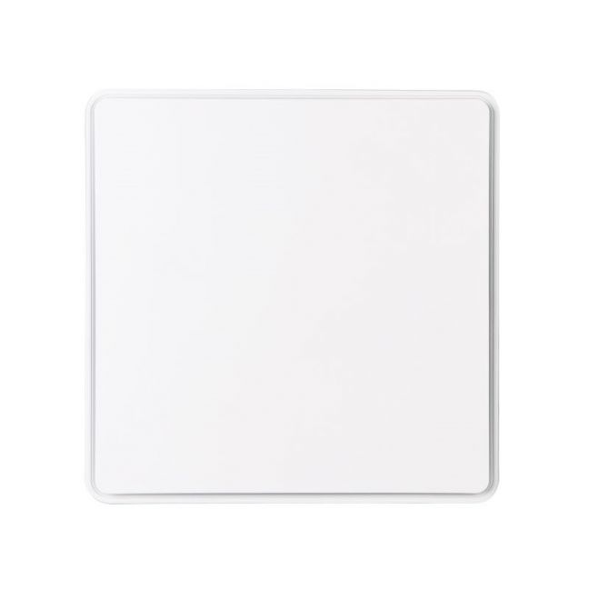 Reef 250mm Square Exhaust Fan in White | Beacon Lighting