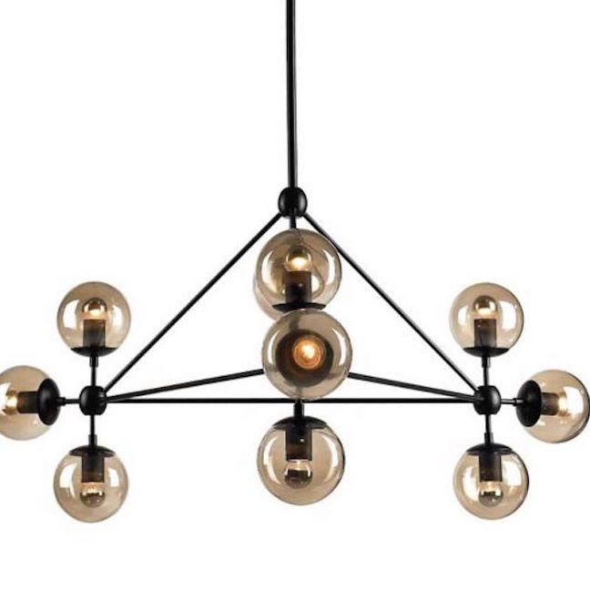 Replica Jason Miller Modo Chandelier | 10 Bulb | Halogen