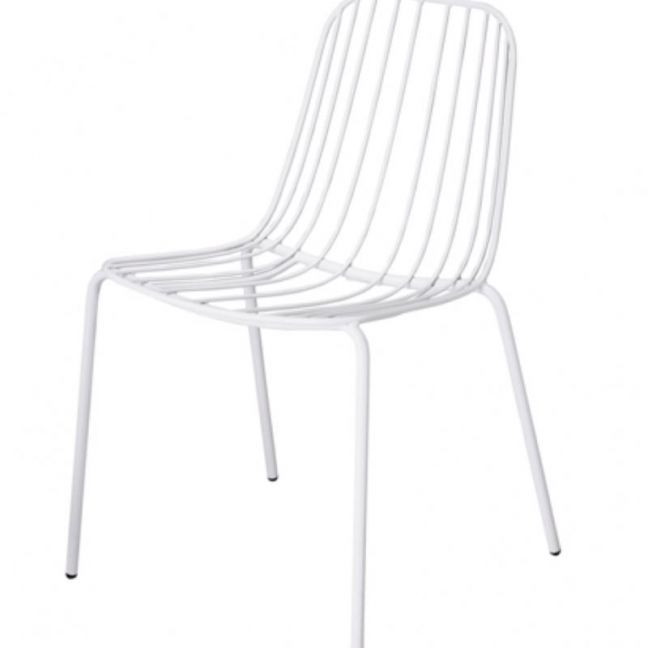 Resonate Patio Chair | CLU Living | White
