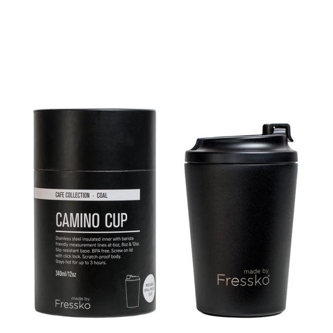 Reusable Cup   Camino Black  340ml / 12oz