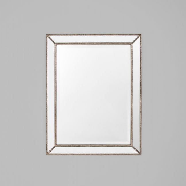 Reverse Beaded Angle Mirror
