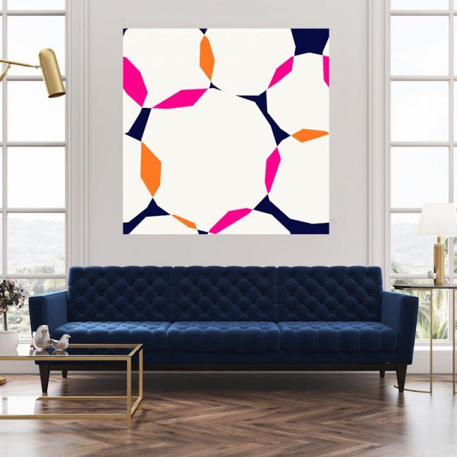 Reverse It | Canvas Wall Art by Hoxton Art House