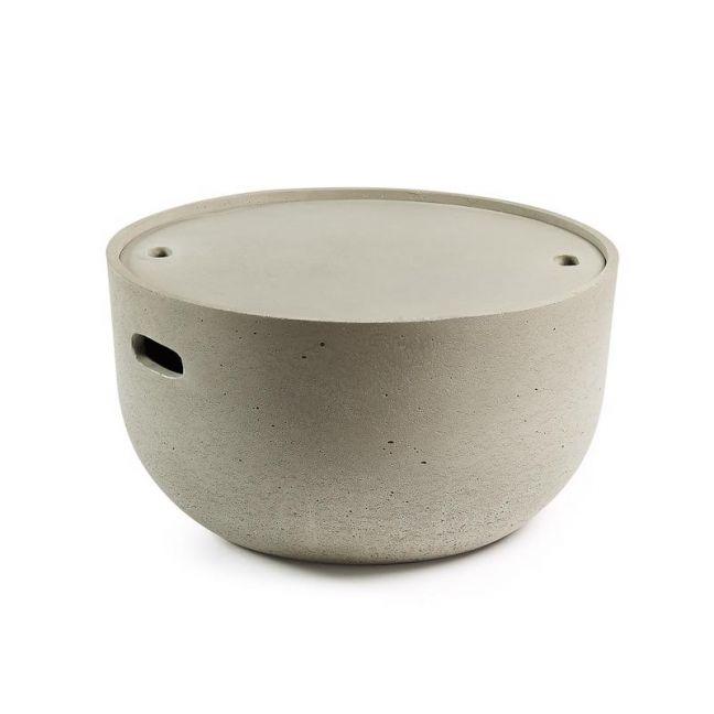 Rhone Concrete Patio Coffee Table | CLU Living