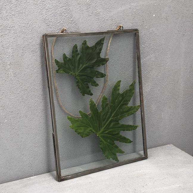 Rimi Pressed Glass Frame