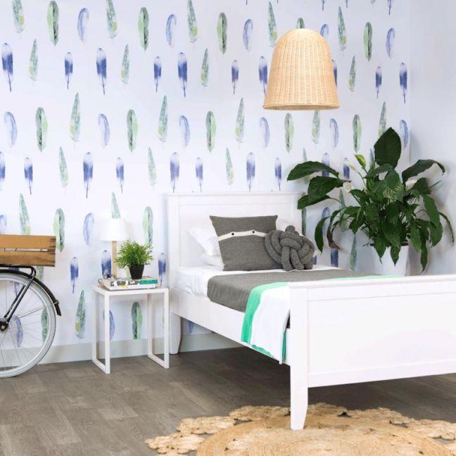 Rio Blue/Green Wallpaper
