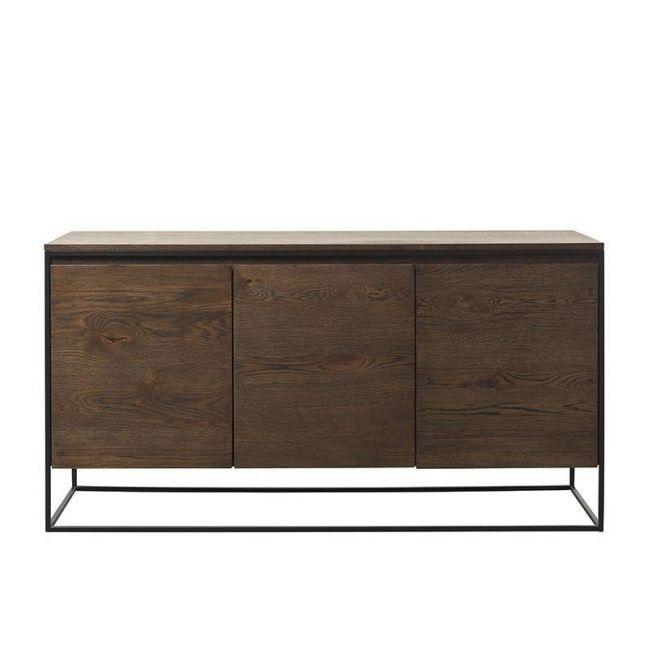 Rivoli Sideboard 1.55M |  Brushed Smoked Oak