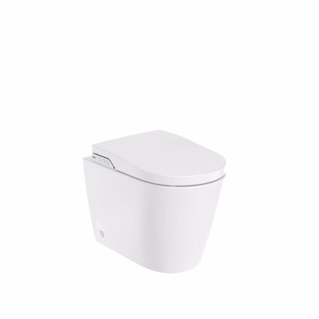 Roca In-Wash Inspira Smart Toilet Rimless Back To Wall Pan (4 Star) | Reece