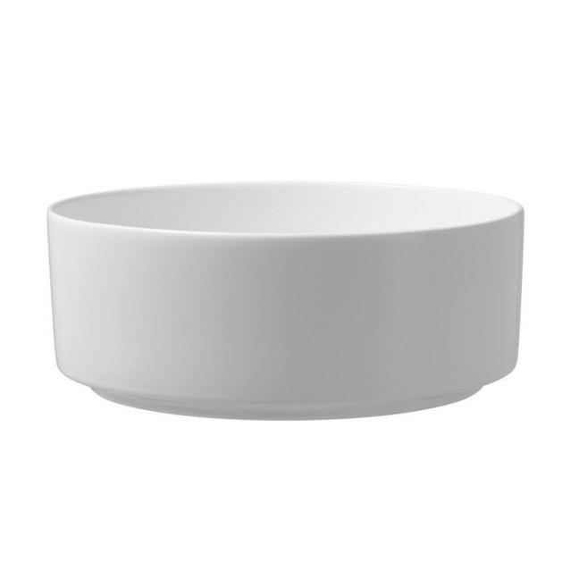 Roca Inspira Round Vessel White Basin | Reece