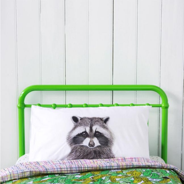 Rocco the Raccoon Pillowcase | by For Me By Dee