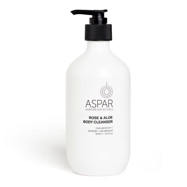 Rose & Aloe Body Cleanser by ASPAR