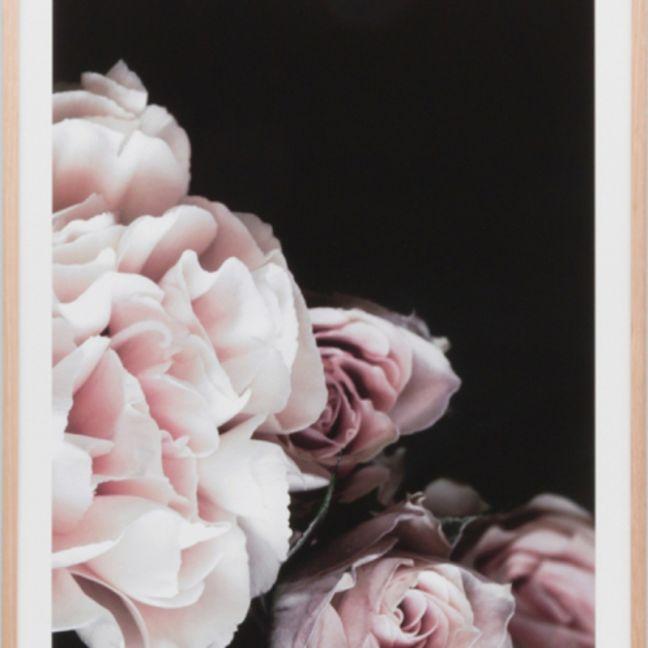 Rose Noir | Framed Print Set of 4