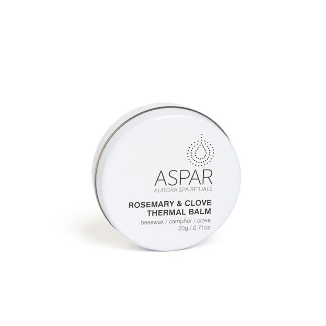 Rosemary & Clove Thermal Balm | by Aspar