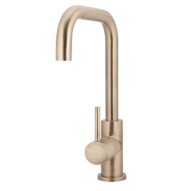 Round Champagne Kitchen Mixer