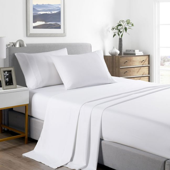 Royal Comfort 2000 Thread Count Bamboo Cooling Sheet Set - King- Various Colours
