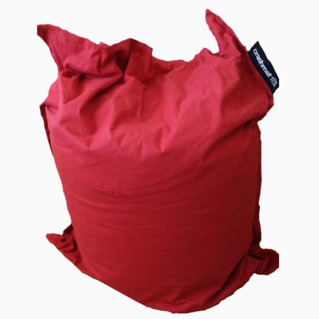 Rustic Red Crashmat Beanbag