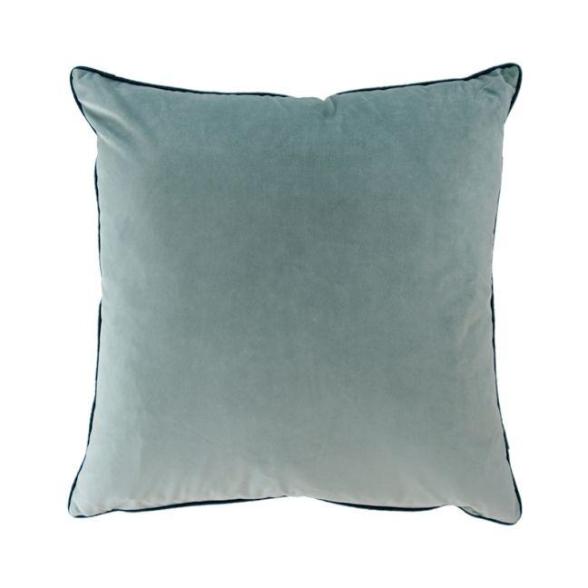 Sage Green Oversize Velvet Cushion