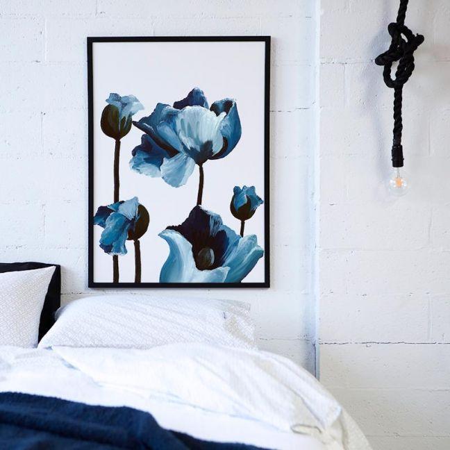Sapphire by Danelle Messaike | Framed Fine Art Print