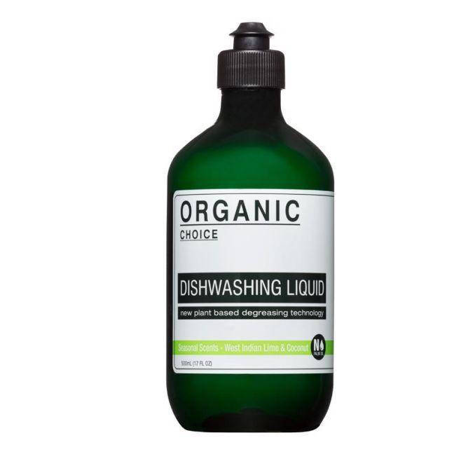 Seasonal Scents - West Indian Lime & Coconut Dishwashing Liquid | 500ml