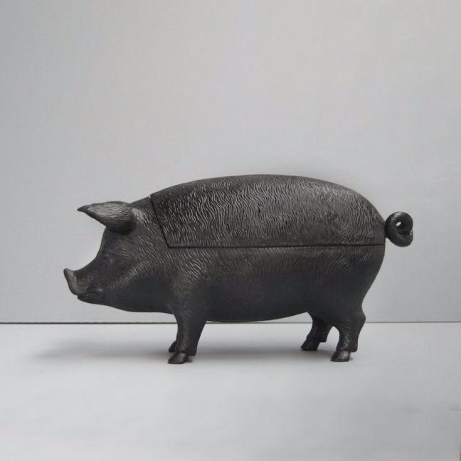 Secret Pig Bowl | Black | White Moose