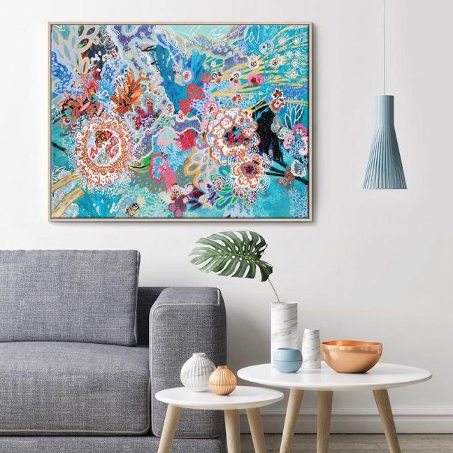 Selva Submarina | Lia Porto | Canvas or Print by Artist Lane
